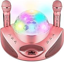 KaraoKing New 2020 Karaoke Machine – for Adults and Kids –2 Wireless Karaoke..