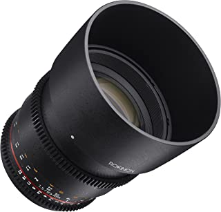 Rokinon Cine DS DS85M-MFT 85mm T1.5 AS IF UMC Full Frame Cine Lens for Olympus and Panasonic Micro Four Thirds