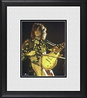Jimmy Page Led Zeppelin Framed 8