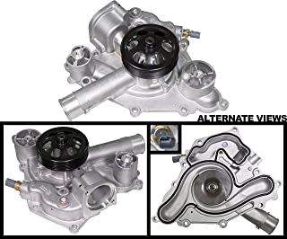 APDTY 139990 Water Pump w/Pulley Oring Gasket & Temp Sensor Fits 5.7L or 6.4L Hemi Engine On 2011-2017 Chrysler 300 Dodge Charger Challenger Durango Jeep Grand Cherokee