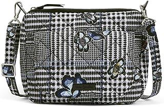 Vera Bradley womens Performance Twill Carson Mini Shoulder Bag Crossbody Purse, Bedford Plaid, One Size US