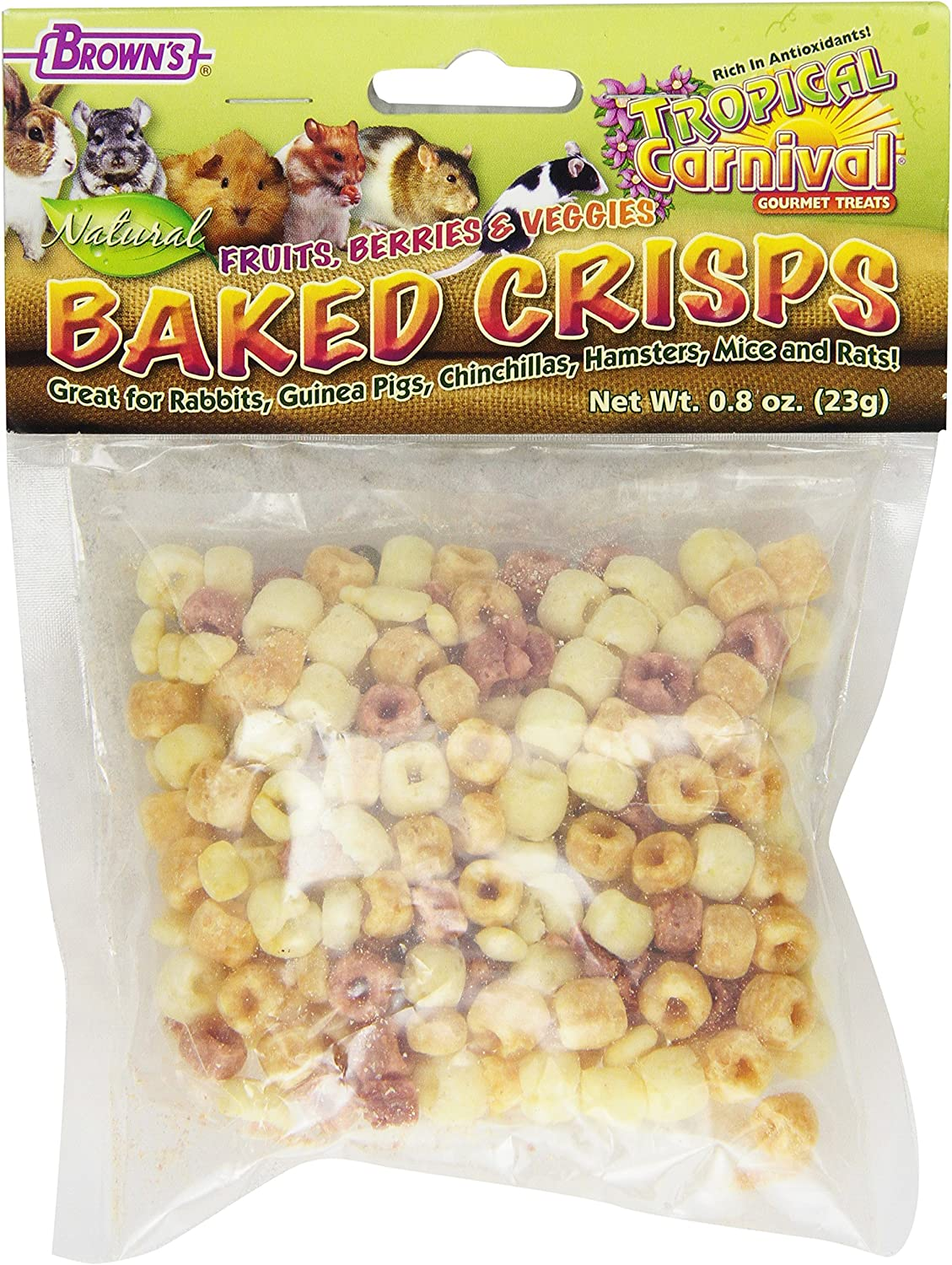 F.M. Brown's Store Tropical Carnival Natural Outlet sale feature Tasty for An Small Crisps