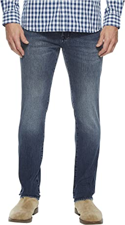 Liverpool - Slim Straight in Comfort Stretch Denim in Southaven Mid Blue