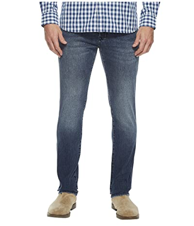 Liverpool Slim Straight in Comfort Stretch Denim in Southaven Mid Blue (Southaven Mid Blue) Men