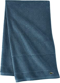 Lacoste Legend Towels, 30x54, Dark Teal