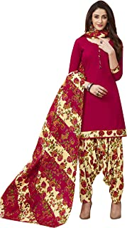 Jevi Prints Women's Cotton Printed Straight Stitched Salwar Suit Set (ND-1914)