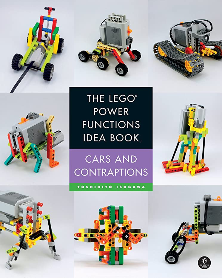 道徳教育遠え休戦The LEGO Power Functions Idea Book, Volume 2: Cars and Contraptions (English Edition)