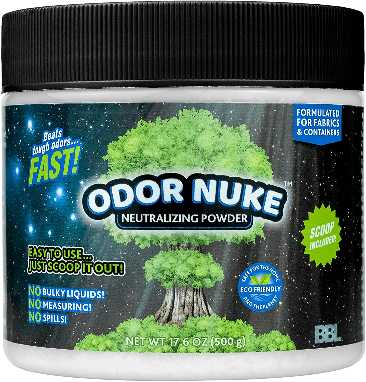 Selling rankings ODOR sold out NUKE Bedside Commode Deodorizer Powder - Odor Urine N Human