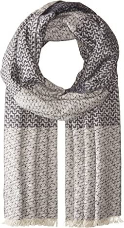 Scotch & Soda - Scarf in Double-Bed Quality and Mix & Match Patterns