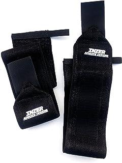 "Inzer Wrist Wraps - True Black 24"" (Pair) Powerlifting Weight Lifting Wraps"