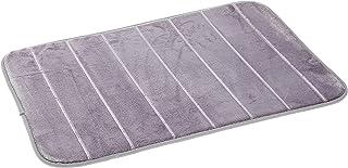 HOUZE BN-7211 Memory Foam Mat, Grey, Dim: 60x40x1.2cm