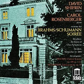 Brahms, J.: Clarinet Sonatas Nos. 1 And 2 / Schumann, R.: Fantasiestucke (Shifrin)