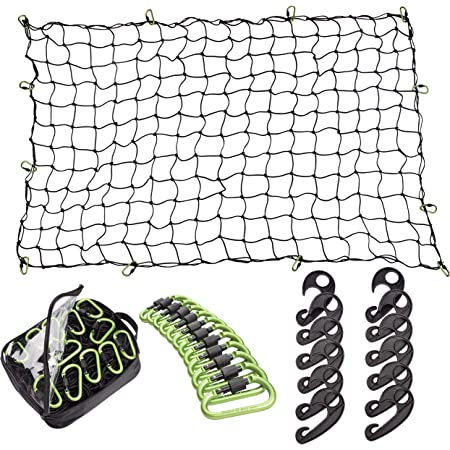 Sola Large 10 Hook Cargo Net 100cm x 100cm