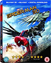 spider man homecoming 3d blu ray