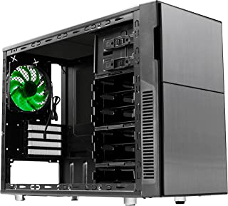 Nanoxia Deep Silence 4 carcasa de mini torre para Micro-ATX, Mini-ITX, control de ventilador de 2 canales, antracita