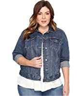 Lucky Brand - Plus Size Classic Trucker Jacket