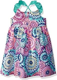 Girls' Toddler Criss Cross Back Strap Woven Dress