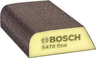 Bosch Professional S470 Best for Profile Fein gąbka szlifierska (drewno, tworzywo sztuczne i metal, 69 x 97 x 26 mm, akces...