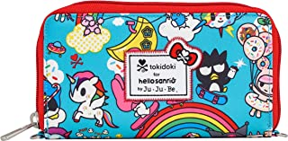 JuJuBe Be Spendy Zippered Wallet, Tokidoki Collection - Rainbow Dreams