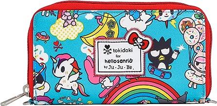 JuJuBe Be Spendy Zippered Wallet, Tokidoki Collection - Rainbow Dreams