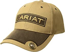 Ariat - Logo Patch Bullet Ball Cap