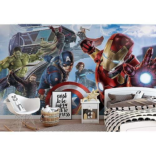 Avengers Wallpaper: Amazon.co.uk