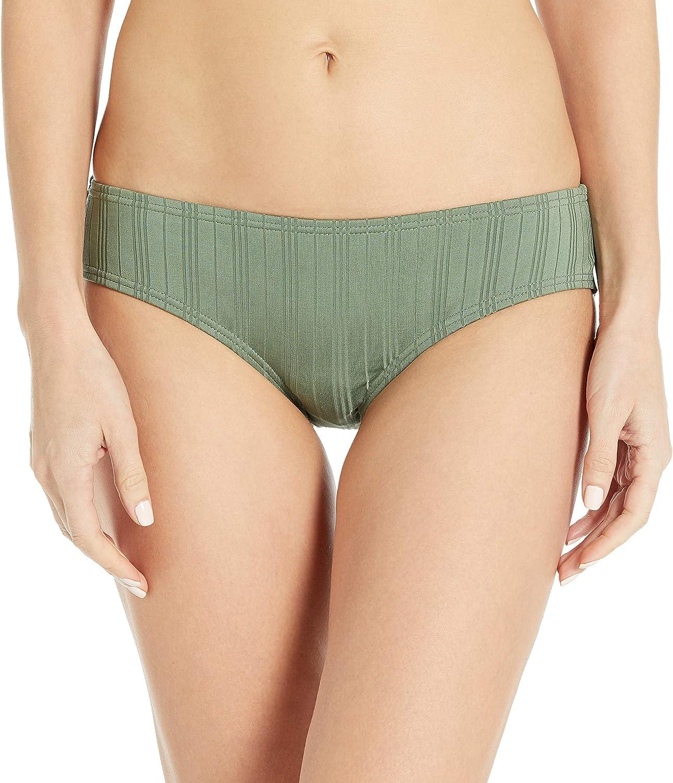 Vince Camuto Women's Standard Shirred Smooth Fit Bikini Bottom Swimsuit