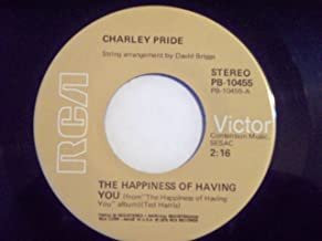Best charley pride the happiness of having you Reviews