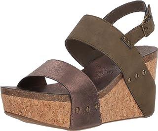 20eeb41b683 Women s Sugar Jeffrey Cork Wedge Sandal