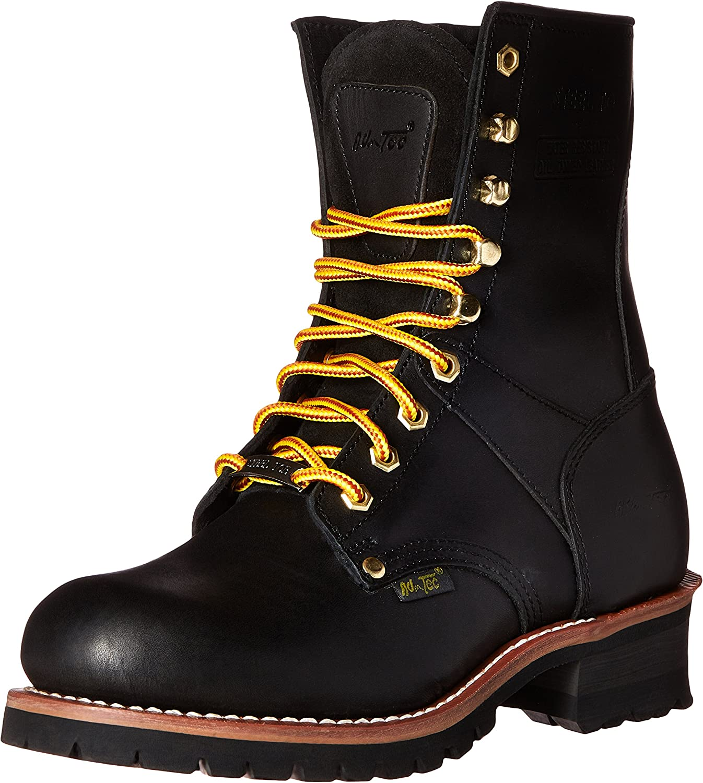 Adtec Men's 9 Inch Steel Toe Logger-M Boot