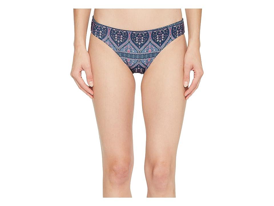 Roxy Sun, Surf and ROXY(r) 70s Bikini Bottom (China Blue New Maiden Swim) Women