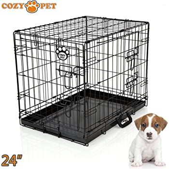 James Steel My Pet Dog Crate Red 30 Inch Amazon Co Uk Pet Supplies
