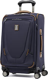 "Travelpro Crew 11 21"" Expandable Spinner Carry-on Suiter Suitcase, Patriot Blue (Blue) - 407166101"