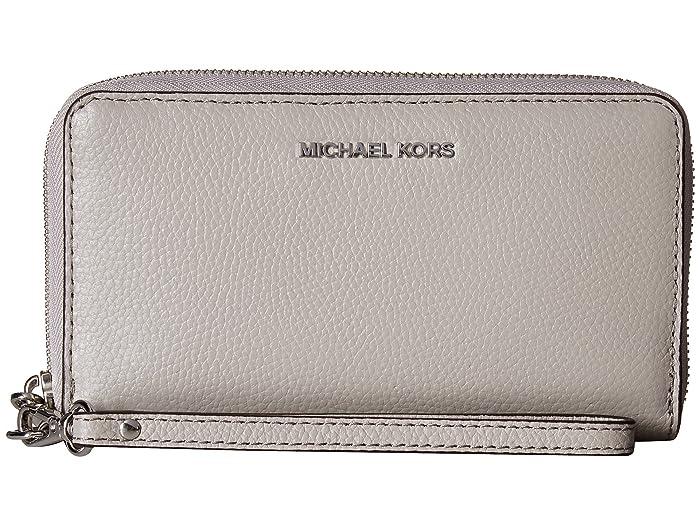 03998c07d MICHAEL Michael Kors Large Flat Multifunction Phone Case at Zappos.com