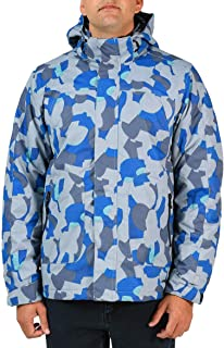 Arctix Men's Defiance Insulated Winter Jacket, XX-Large, Blue GEO