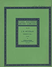 Concerto No. 1 in A Minor, Violin and Piano, Revised and Edited by George Perlman (Carl Fiescher's Music Library No. 518)