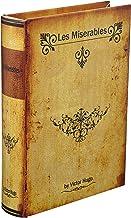 秋月貿易 アンティーク風 シークレットボックス Sサイズ 「Les Miserables」 洋書型 小物入れ アクセサリー 収納 金庫 ケース LV09015-S