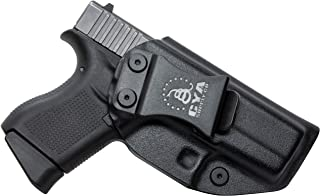 CYA Supply Co. Fits Glock G43 / G43X Inside Waistband Holster Concealed Carry IWB Veteran Owned Company