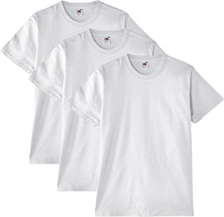 Fruit of the Loom Heavy Cotton T-Shirt (Lot de 3) Homme