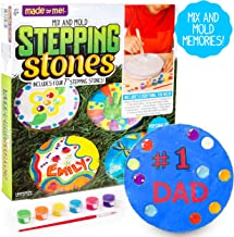 Made By Me Mix & Mold Your Own Stepping Stones by Horizon Group USA, Make 4 DIY..