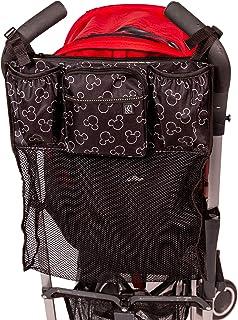 J.L. Childress Disney Baby Cups 'N Cargo Universal Stroller Organizer & Accessory, Mickey Black