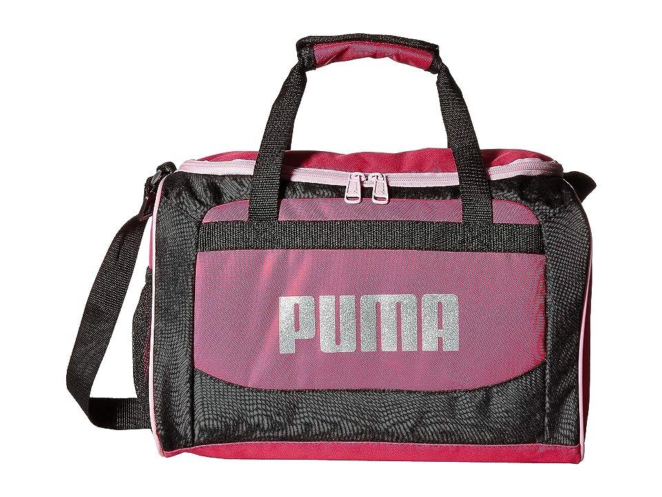 PUMA Evercat The Field Trip Duffel (Black/Pink) Duffel Bags