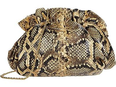 Loeffler Randall Willa Mini Cinch Clutch (Sahara) Handbags
