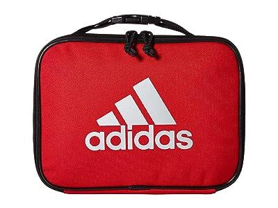 adidas Kids Foundation Lunch Bag (Little Kids/Big Kids) (Scarlet/Black/Silver) Bags