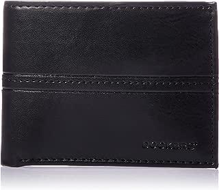 Men's RFID Security Blocking Passcase Wallet