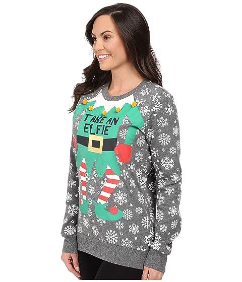 Take an Sweatshirt P Holiday J Elfie Salvage BaREwF