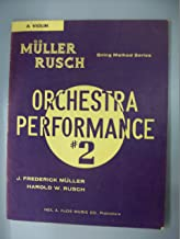 Muller Rusch Orchestra Performance #2 (Flute) (String Method Series)