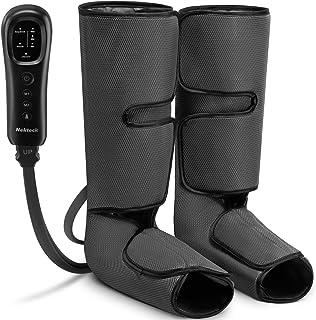 ماساژور ساق پا Nekteck با فشرده سازی هوا برای گردش خون و آرامش ، دستگاه ماساژ پا و ساق پا با کنترل کننده دستی 2 حالت 3 شدت ، بندهای قابل تنظیم برای استفاده در منزل و محل کار