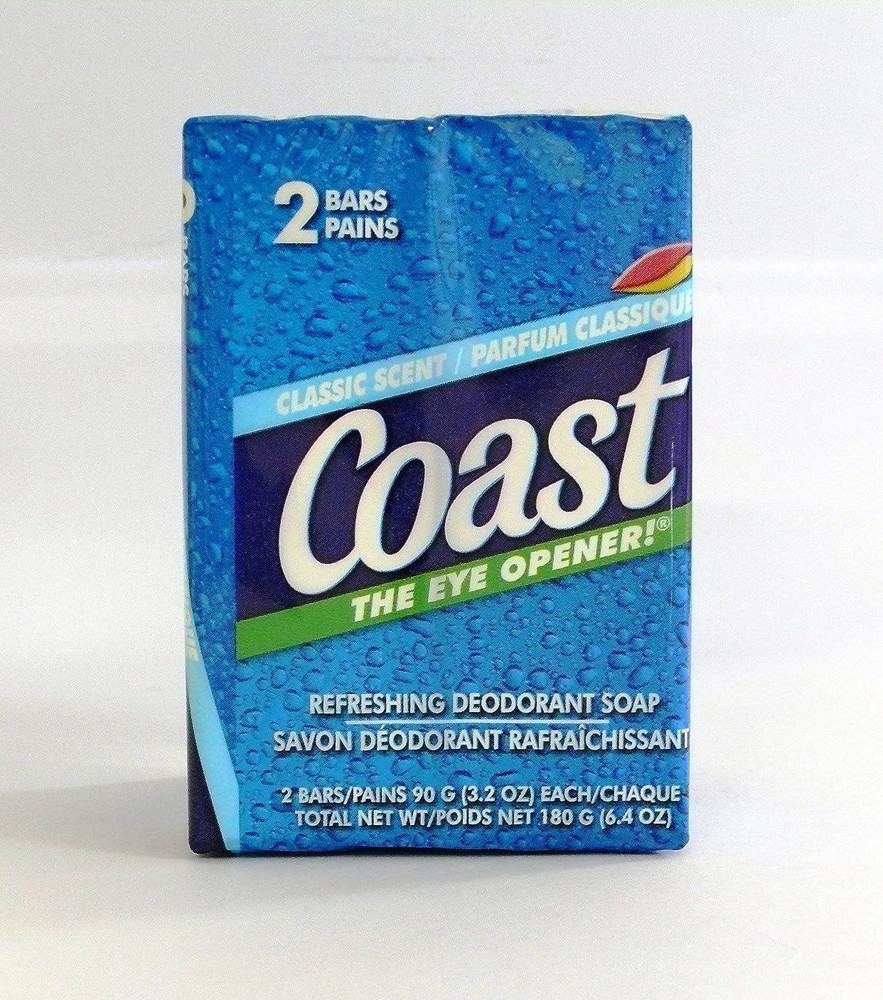 俳優ベッツィトロットウッド訴えるコースト 固形石鹸 クラシックセント 90g 2個入