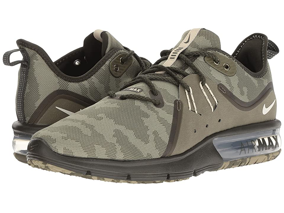 Nike Air Max Sequent 3 Premium (Medium Olive/Beach/Neutral Olive/Sequoia) Men